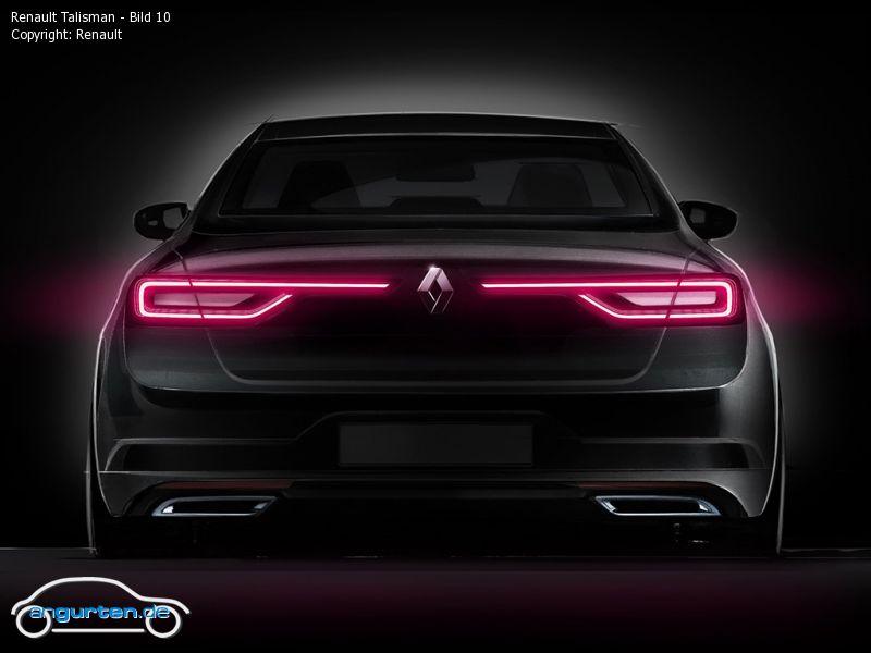 Renault Talisman Limousine Fotos Amp Bilder
