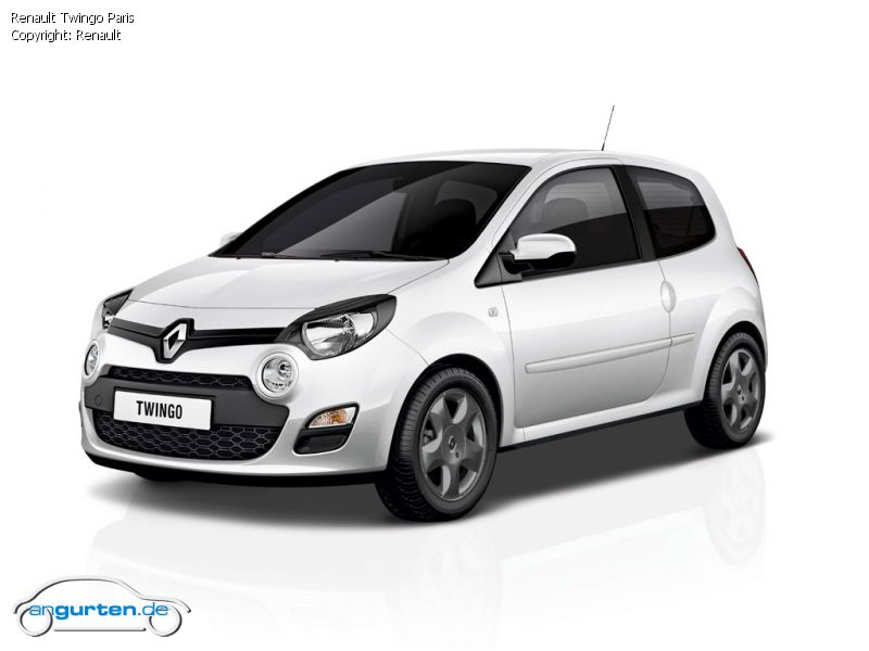 Sondermodell Renault Renault Twingo Paris