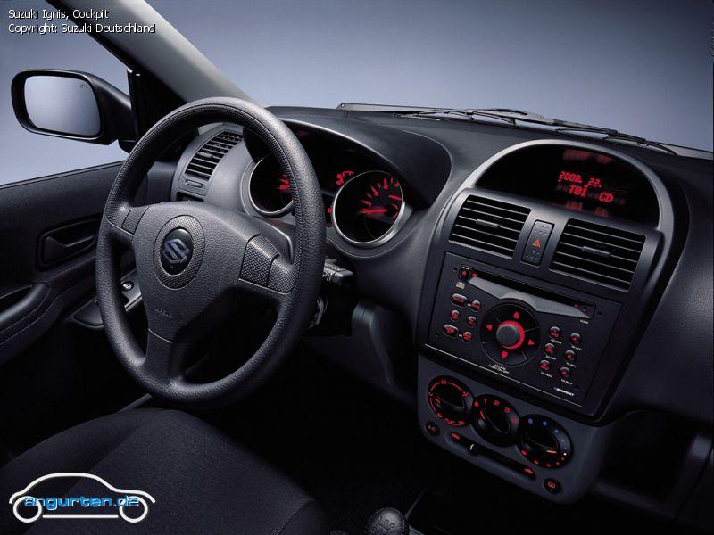Foto Bild Suzuki Ignis Cockpit Angurtende