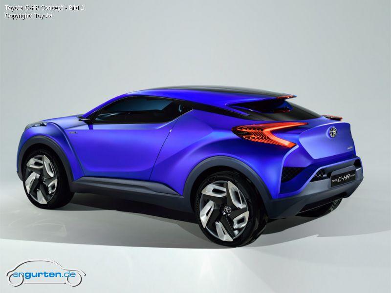 Foto Bild Toyota C Hr Concept Bild 1 Angurten De