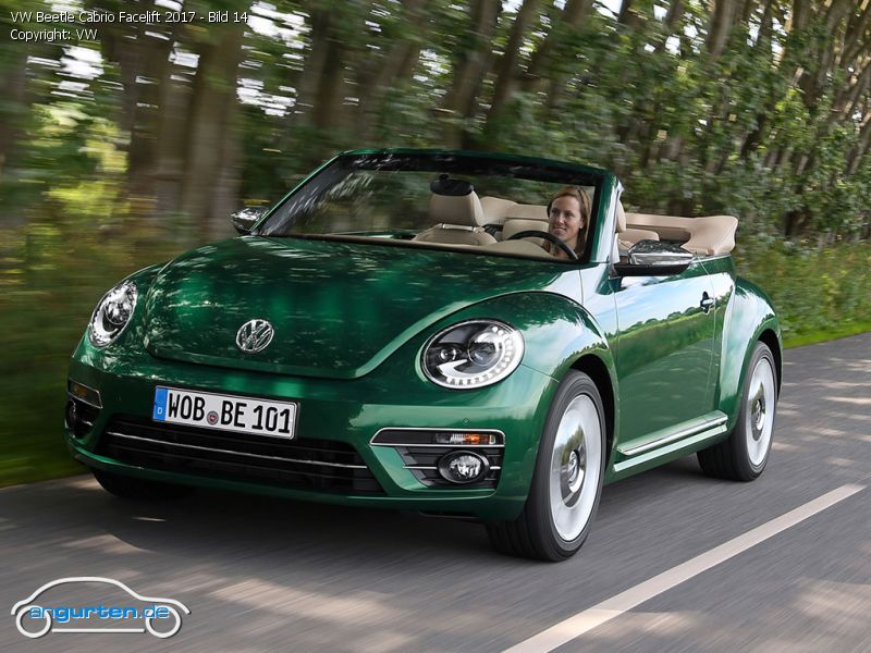 foto bild vw beetle cabrio facelift 2017 bild 14. Black Bedroom Furniture Sets. Home Design Ideas