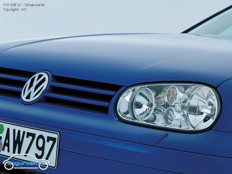 Foto VW Golf IV - Scheinwerfer