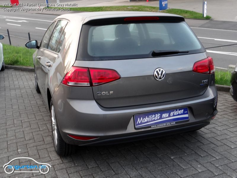 vw golf vii limestone grey metallic farben. Black Bedroom Furniture Sets. Home Design Ideas
