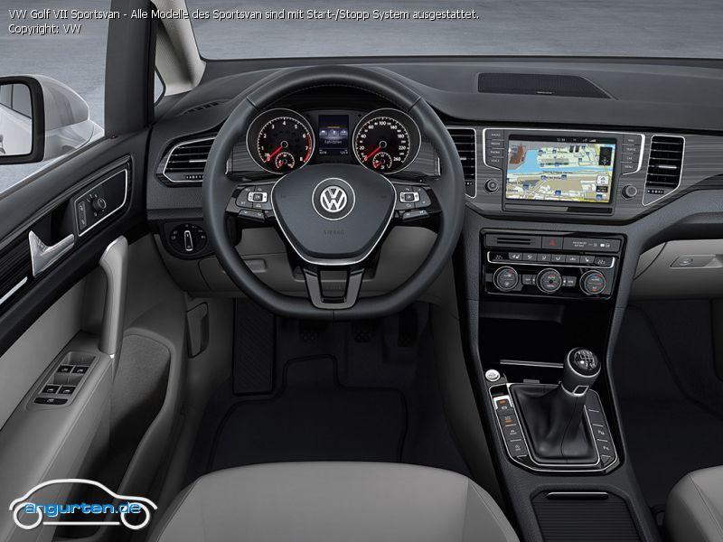 foto vw golf vii sportsvan alle modelle des sportsvan. Black Bedroom Furniture Sets. Home Design Ideas