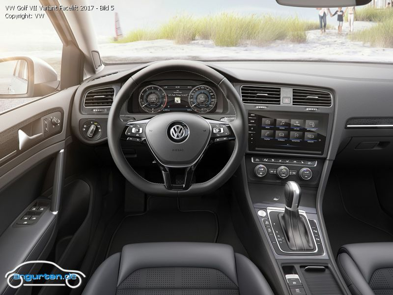 vw golf vii variant fotos bilder. Black Bedroom Furniture Sets. Home Design Ideas