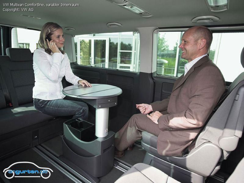 Foto Bild Vw Multivan Comfortline Variabler Innenraum