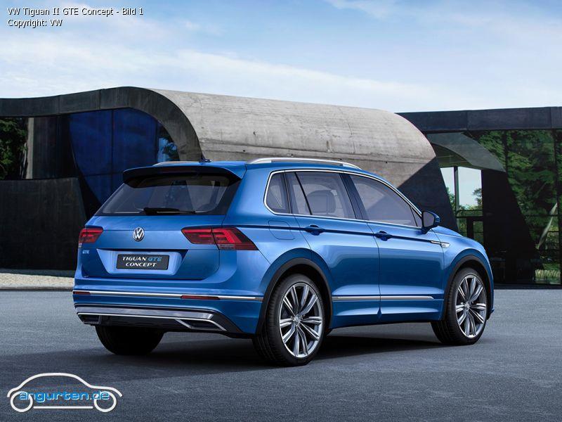 Foto (Bild): VW Tiguan II GTE Concept - Bild 1 (angurten.de)