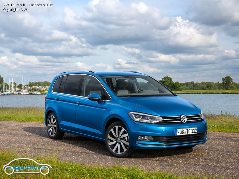 vw tiguan ii caribbean blue metallic farben. Black Bedroom Furniture Sets. Home Design Ideas
