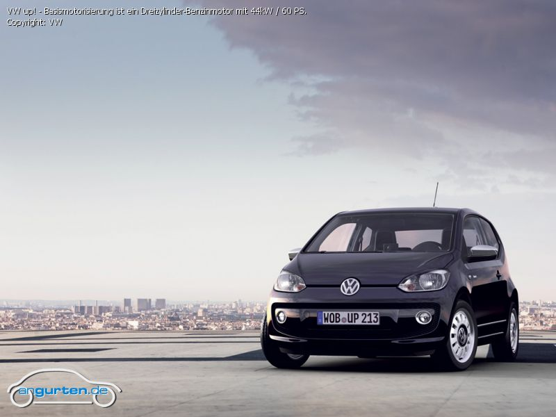 foto bild vw up basismotorisierung ist ein. Black Bedroom Furniture Sets. Home Design Ideas