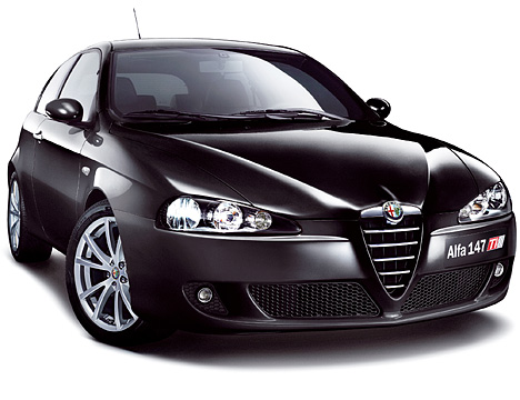 alfa romeo 147 abmessungen technische daten l nge. Black Bedroom Furniture Sets. Home Design Ideas