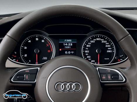 Audi A4 vor und nach Facelift im November 2011 - Bilder ...