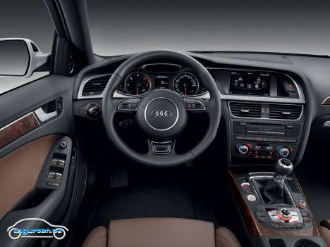 Audi A4 Avant Vor Und Nach Facelift Im November 2011 Bilder
