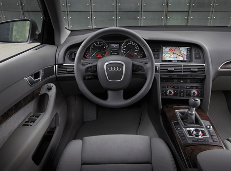 Foto (Bild): Audi A6, Cockpit (angurten.de)
