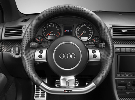 foto bild audi rs4 cockpit lenkrad. Black Bedroom Furniture Sets. Home Design Ideas