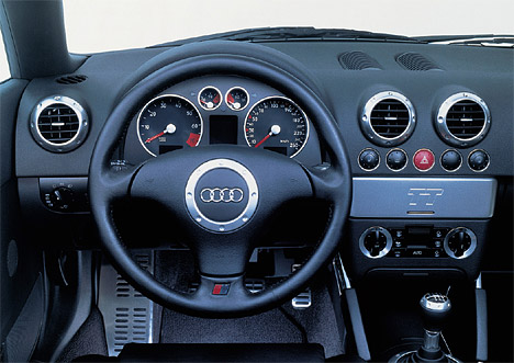 Foto Bild Audi Tt Roadster Das Cockpit Angurten De