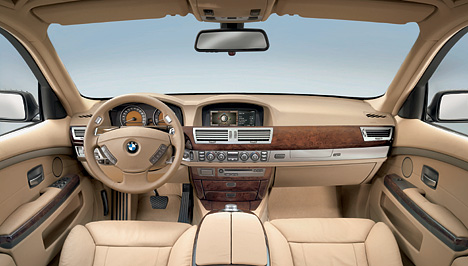 bmw 7er limousine e65 fotos bilder. Black Bedroom Furniture Sets. Home Design Ideas