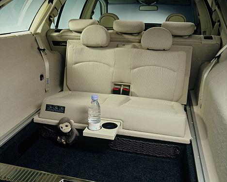 Foto Bild E Klasse T Modell Dritte Sitzreihe F 252 R