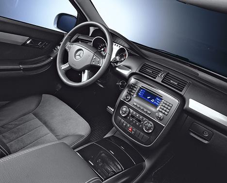 Foto Bild Mercedes R Klasse Innenraum Seitlich