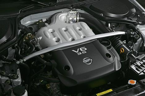 Foto Bild Nissan 350z Motorraum Angurten De
