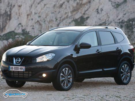 Nissan Qashqai + 2 - Abmessungen & Technische Daten ...