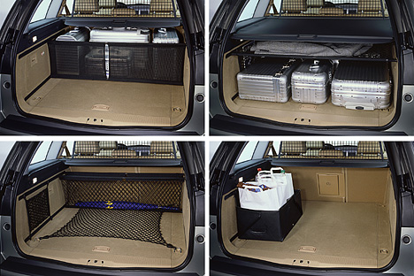 Foto Bild Der Kofferraum Des Vectra Caravan Angurten De