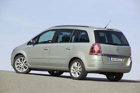 Opel Zafira Tourer Abmessungen Amp Technische Daten