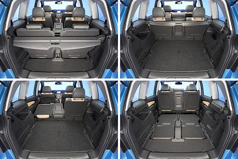 foto bild der kofferraum des zafira. Black Bedroom Furniture Sets. Home Design Ideas
