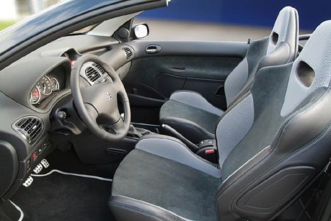 Foto Bild Peugeot 206 Cc Innenraum