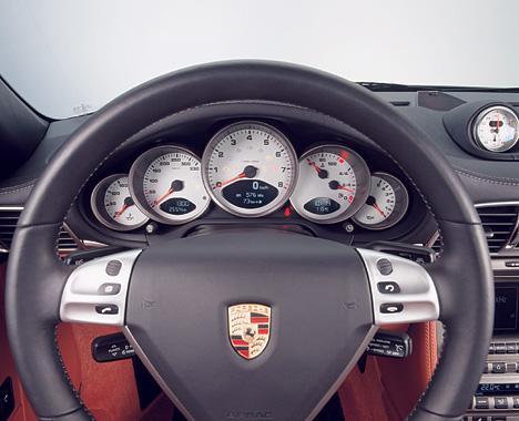 Foto Bild Porsche 911 Cockpit Angurten De