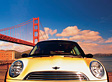 Mini Cooper - Golden Gate Bridge