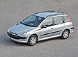 Peugeot 206sw - Frontansicht