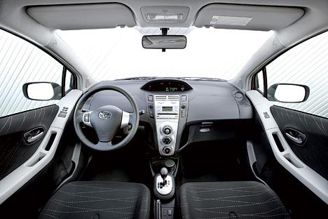 Foto (Bild): Toyota Yaris - Innenraum (angurten.de)