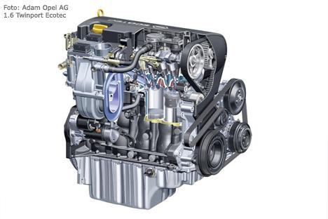 Opel astra h 1 6 twinport ecotec technische daten for H and h motors