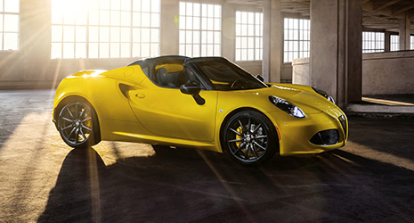 alfa romeo 4c spider 1 8 tbi 16v 240 ps technische. Black Bedroom Furniture Sets. Home Design Ideas