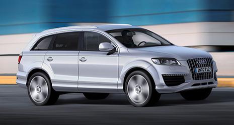 Audi Q7 Abmessungen Technische Daten Länge Breite Höhe Gepäckraumvolumen