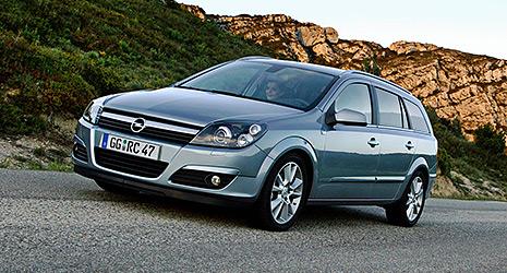 Opel Astra H Caravan - Innenraum / Interieur