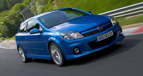 Opel Astra H OPC - Innenraum / Interieur