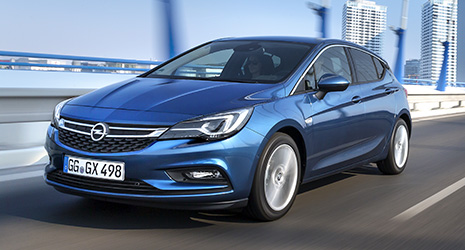 Opel Astra K 1.0 DI Turbo (105 PS) Start-/Stop: Technische ...