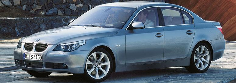 Bmw 5er Limousine E60 Abmessungen Technische Daten Länge