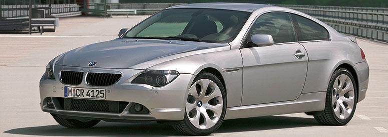 bmw 6er coupe (e63) - abmessungen & technische daten - länge, breite