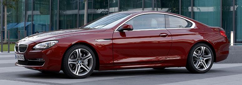 bmw 6er coupe (f13) - abmessungen & technische daten - länge, breite