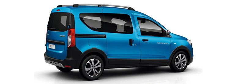 Dacia Dokker Stepway Abmessungen Technische Daten Länge