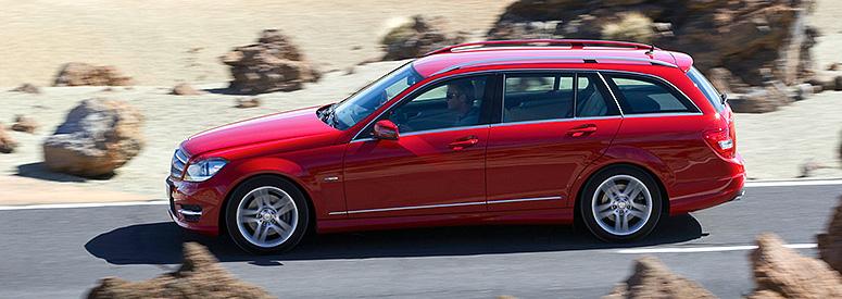Mercedes-Benz C-Klasse T-Modell (S 204) - Abmessungen ...