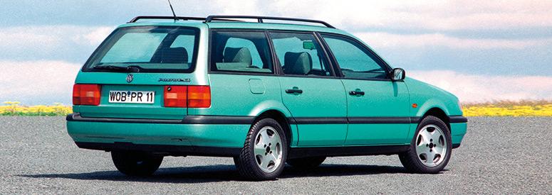 Vw Passat Iv Variant 1993 1997 Abmessungen