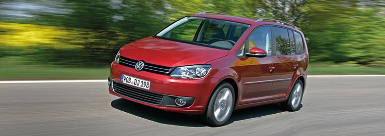 VW Touran - Abmessungen & Technische Daten - Länge, Breite ...