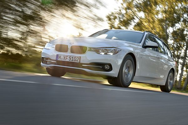 BMW 320d EfficientDynamics. Sauber. Bild: BMW