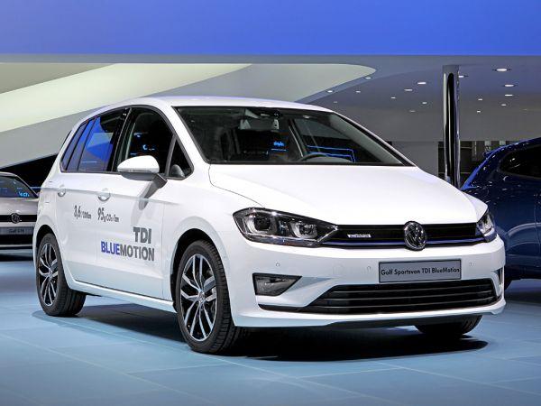 vw bringt golf sportsvan als bluemotion genfer autosalon 2014 kurz notiert auto. Black Bedroom Furniture Sets. Home Design Ideas