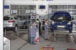 Sehr Gut Für Alle Fünf Getesteten Renault Werkstätten Adac
