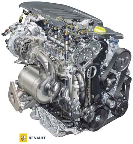 Neue 2 0 Dci Fap Dieselmotoren F 252 R Den Vel Satis Ab Werk